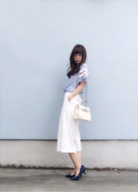 トレンドボトムの最旬スタイルが知りたい♡ 人気モデル笹口直子さんに学ぶガウチョとワイドパンツの着回しコーデ術♪