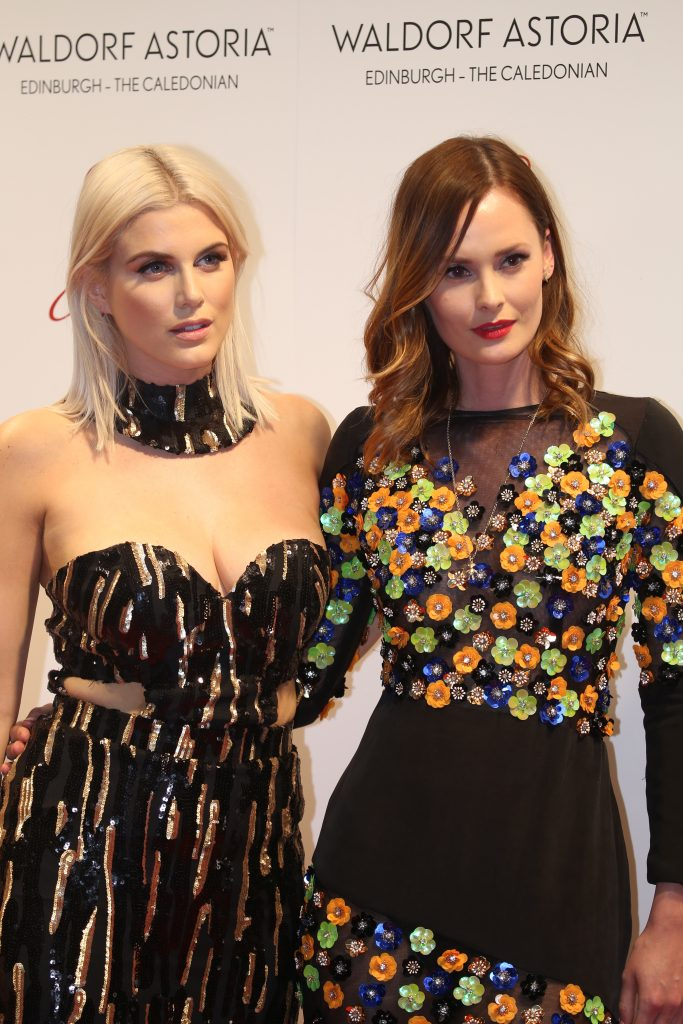 Ashley James and the model Charlotte De Carle