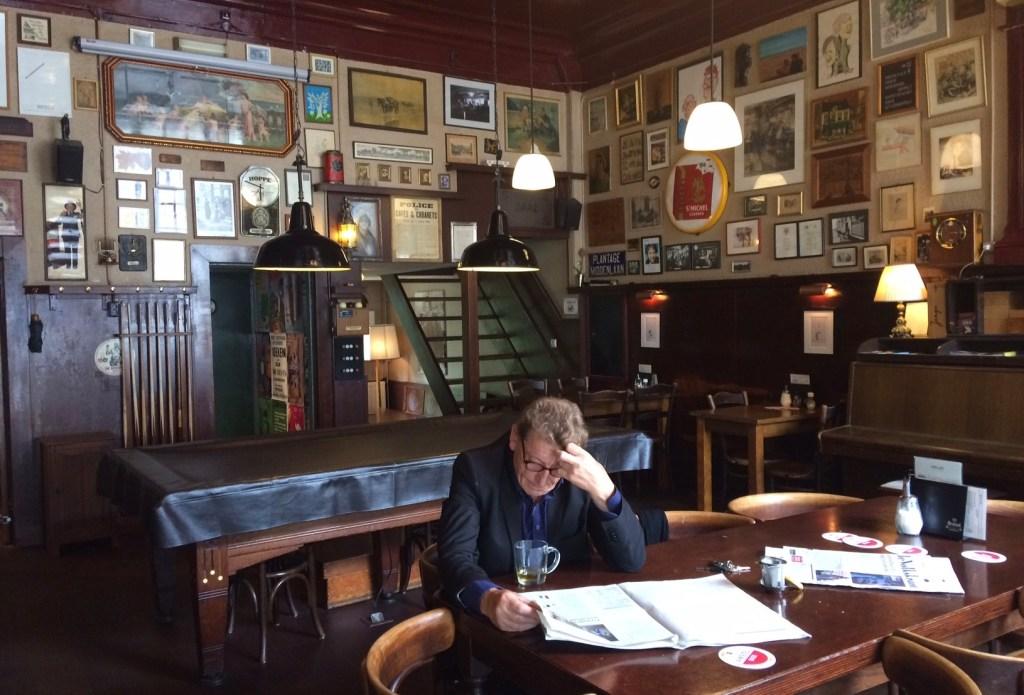 Traditional Amsterdam bar