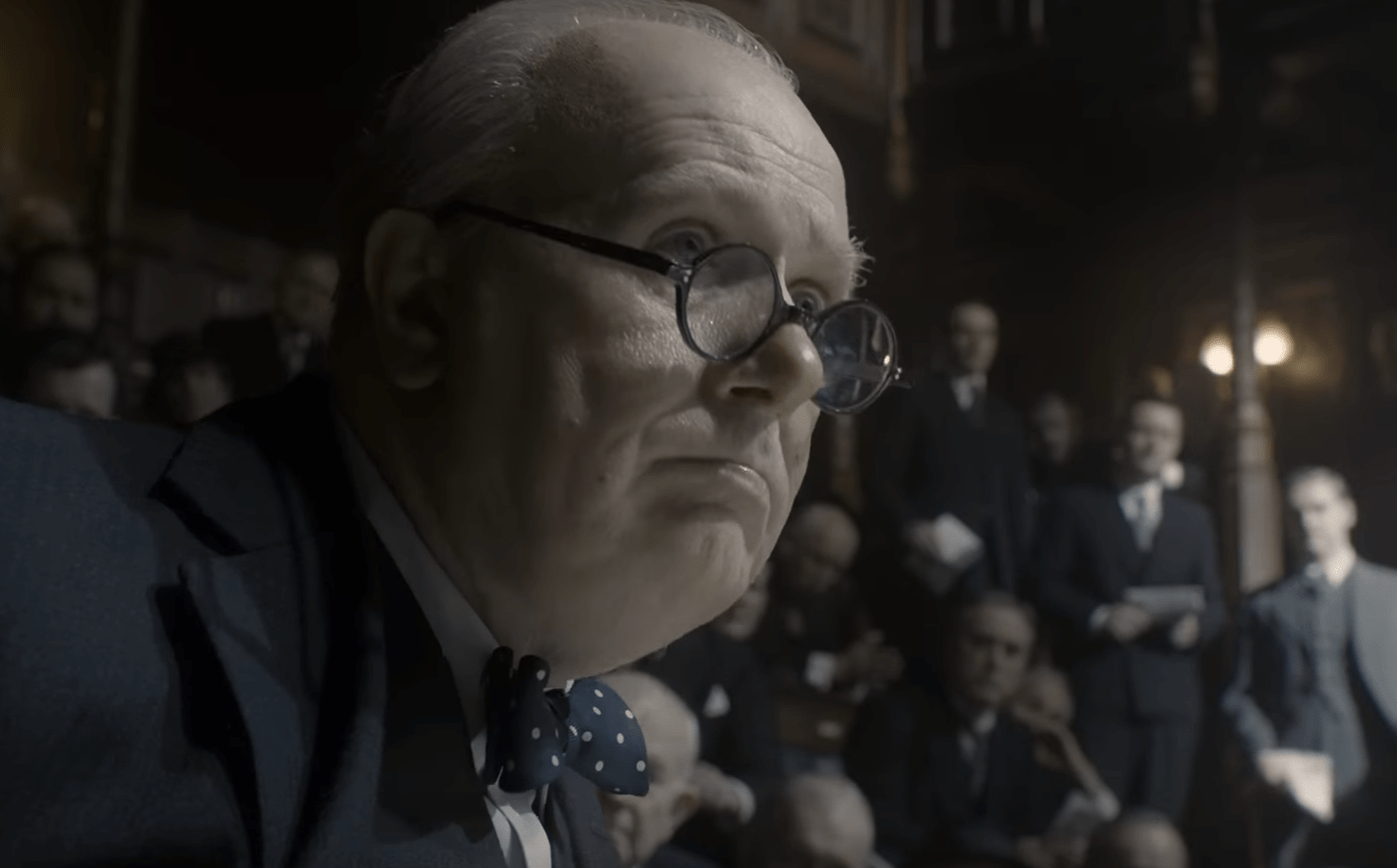 Oldman as Churchill