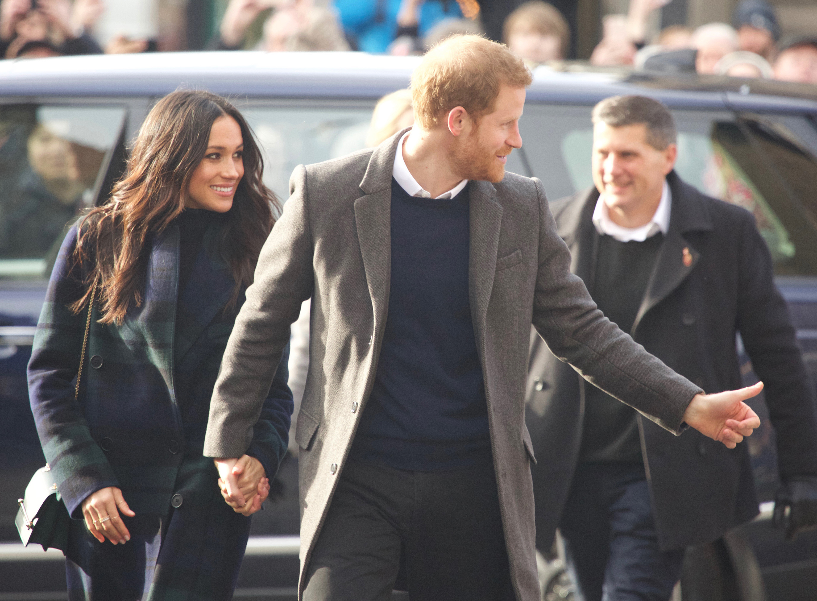 Prince Harry heads to Social Bite with Meghan Markle
