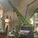 Cathedral set for Avengers