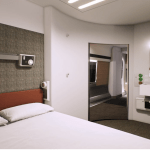 Caledonian Sleeper double bed