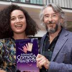 Rose Matafeo and Steve Coogan at Edinburgh Comedy Awards