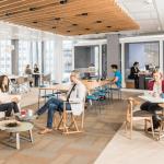 Office, flexible working