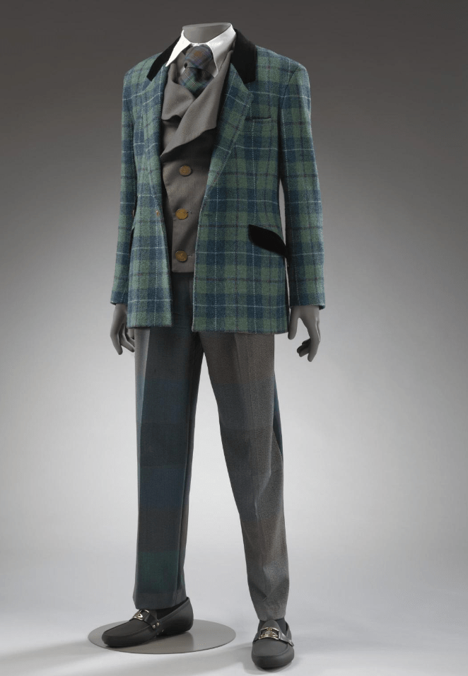 Suit by Vivienne Westwood for V&A Dundee