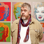 Jupitus at Warhol show