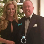 Mone reveals engagement to billionaire Barrowman