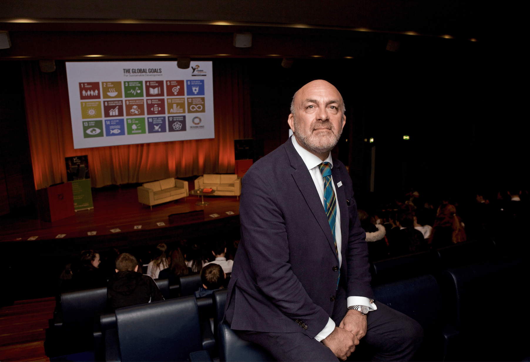 Geoff Leask of Young Enterprise Scotland