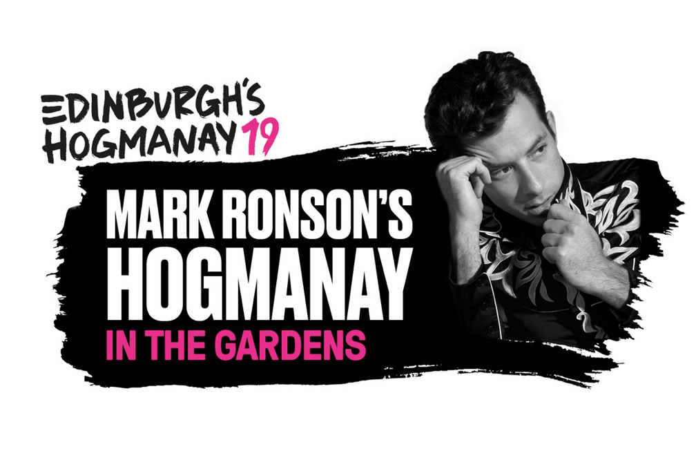 Mark Ronson hogmanay