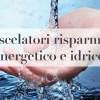 miscelatori risparmio idrico
