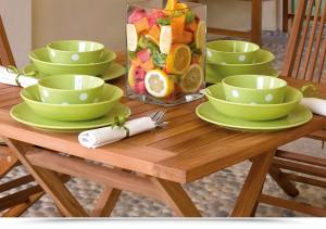 set giardino tavolo con sedie