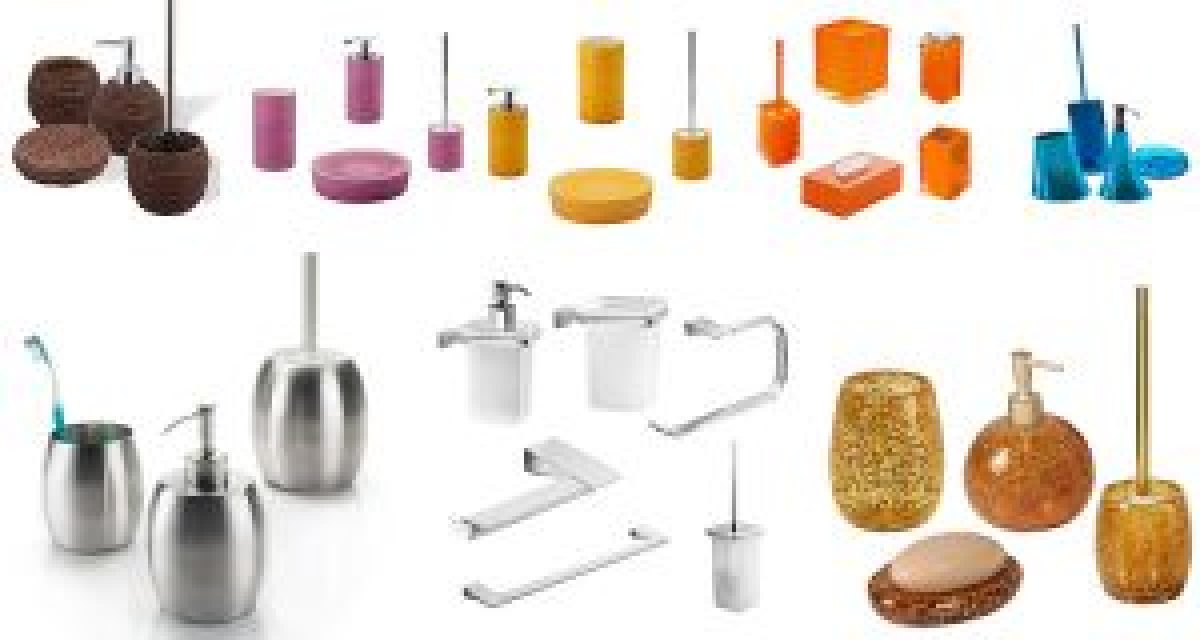 Set accessori bagno