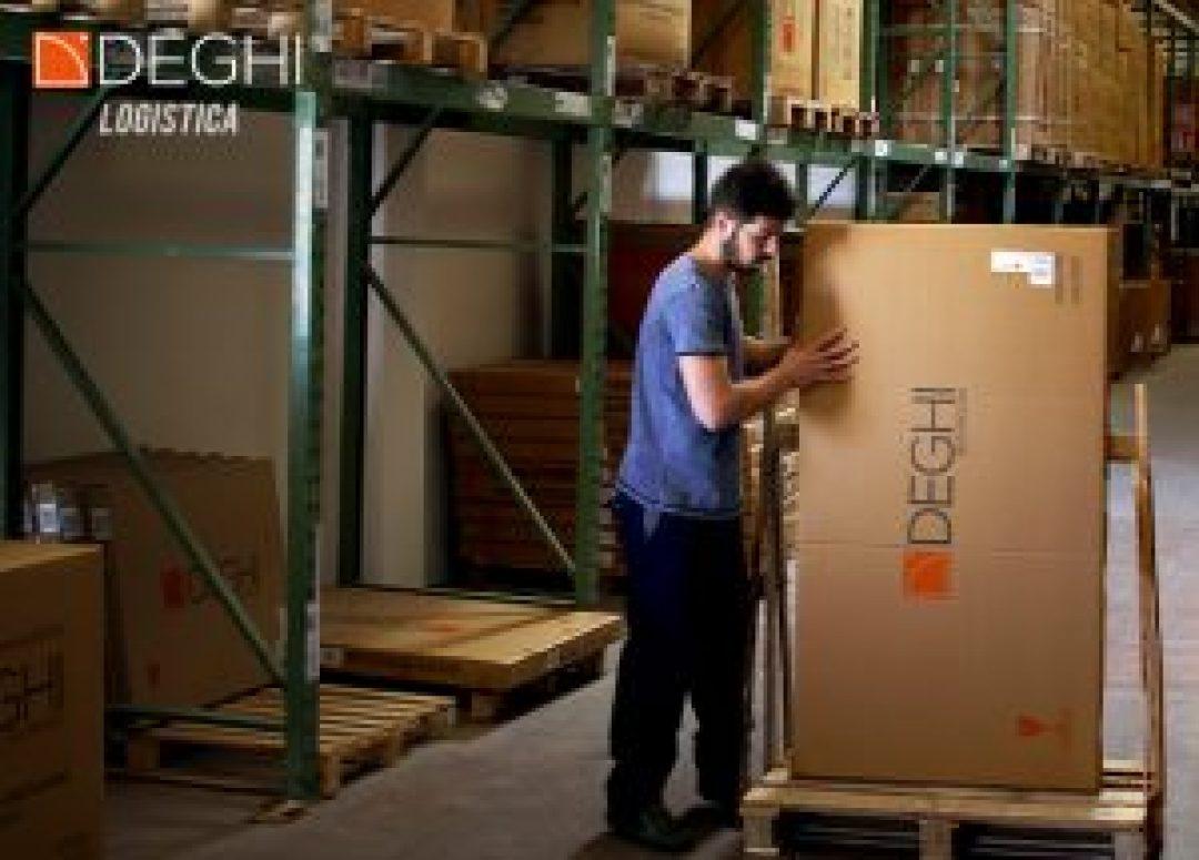 logistica deghishop e-commerce con magazzino