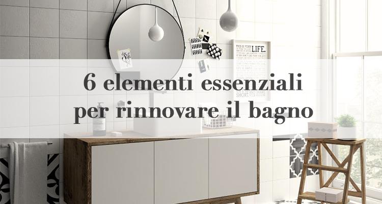 6 idee per rinnovare il bagno spendendo poco