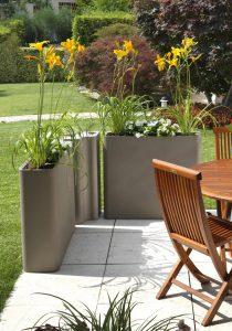 giardino festa arredo vaso