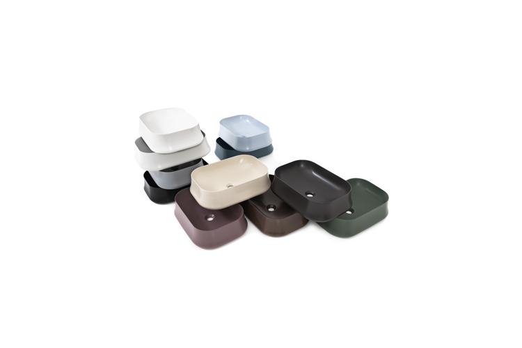 bagno colorato moderno