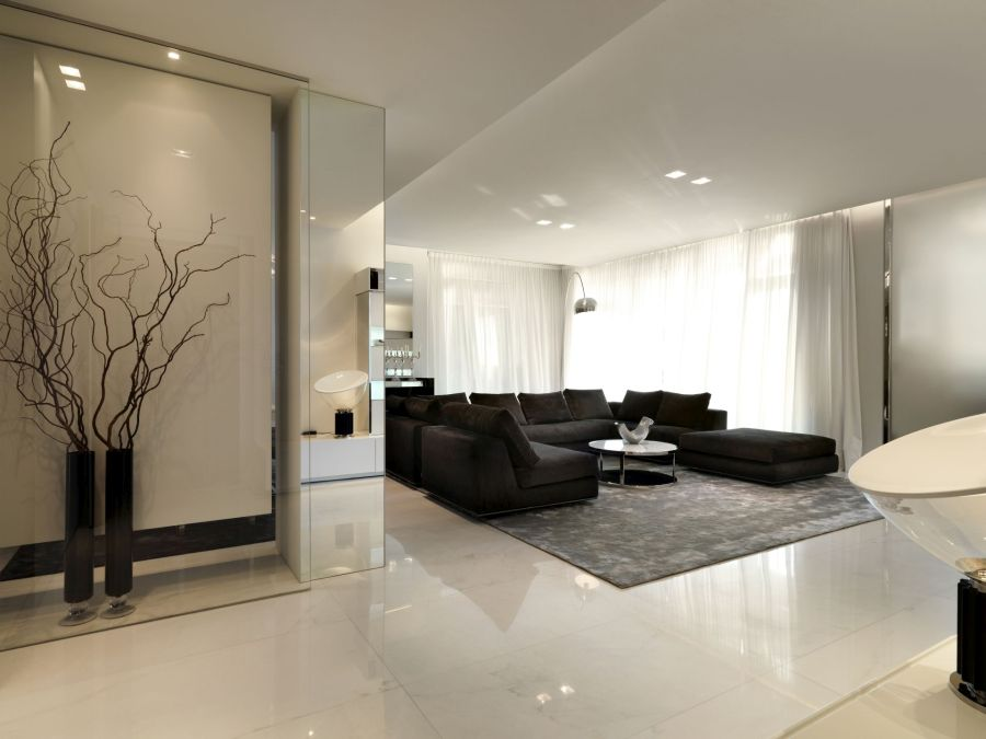 An Elegant And Minimalist Decor For An Apartment In Milan