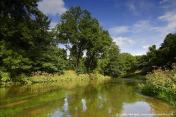 Il fiume Vilnia ed il parco circostante