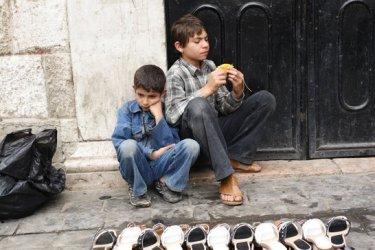 Vicino alla grande moschea di Damasco