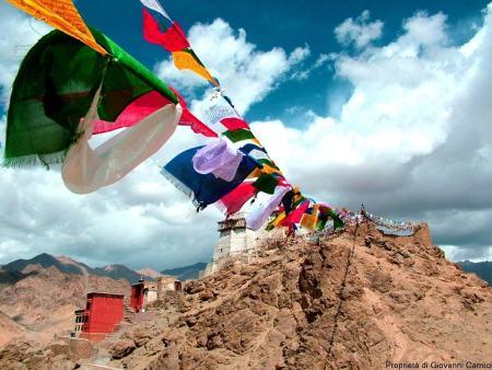 Forte e Namgyal Tsemo gompa