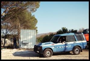 Presidio al C.I.E. di Campochiaro - @ Luca Rossi 01