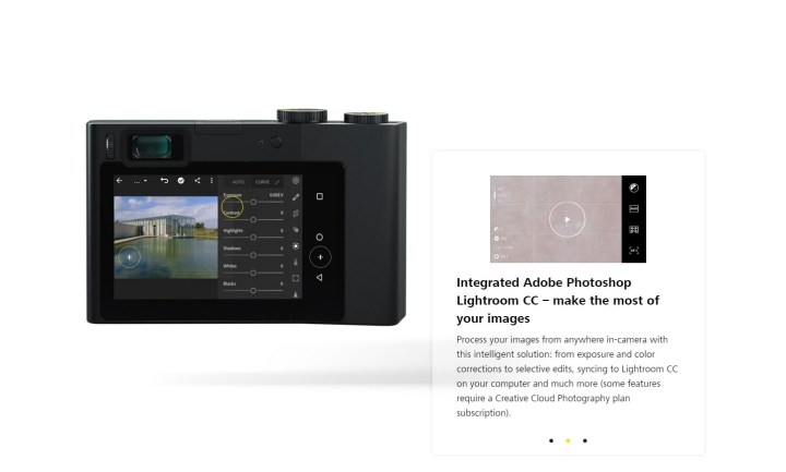 Zeiss ZX1 sviluppo in camera con Adobe Photoshop Lightroom CC