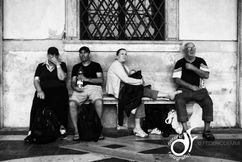 Turisti a Venezia © Federico Emmi