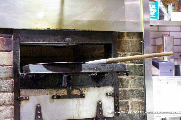 Handmade brick-oven