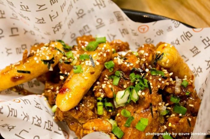 The Chicken with korean rice cake | foodpanda Magazine