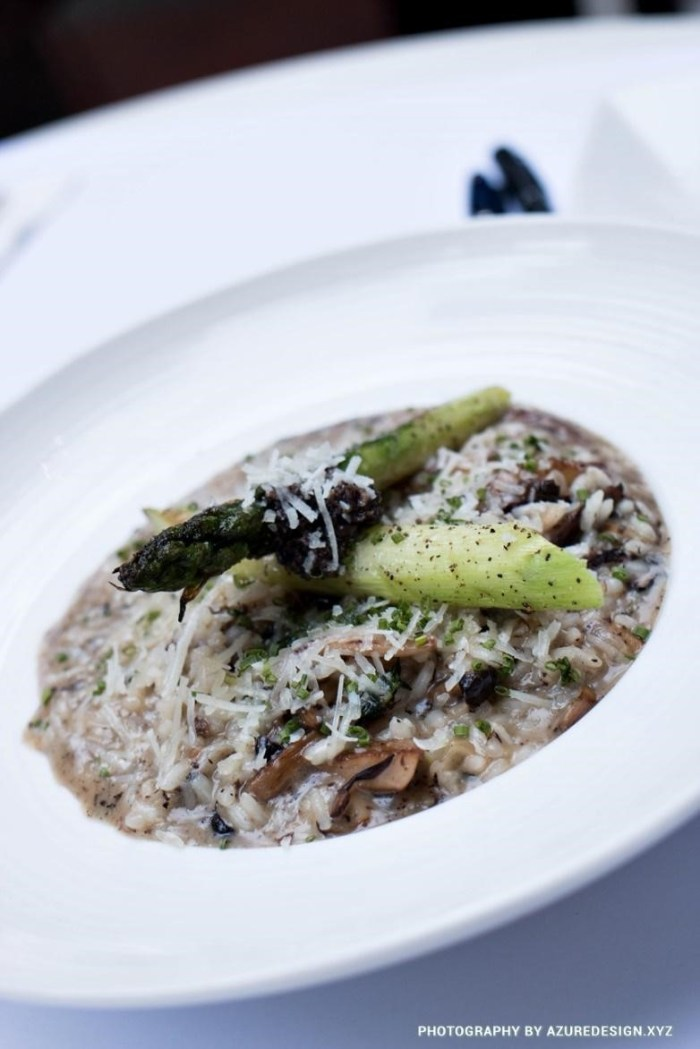 Truffle Risotto at Mo Bros