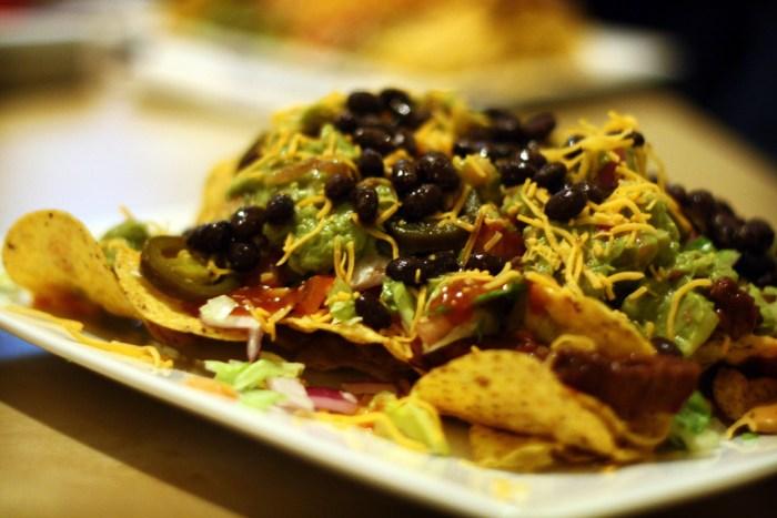 nachos portobello