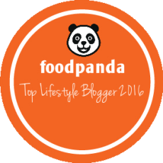 foodpanda Top Lifestyle Blogger 2016