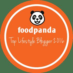 foodpanda Top Lifestyle Blogger 2016
