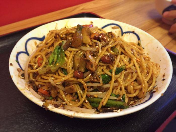 Sichuan Ban Mian Noodles 2 (Sichuan)