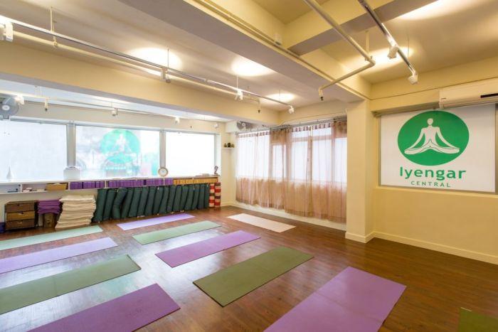 Iyengar Central Yoga Studio Fitness Studio