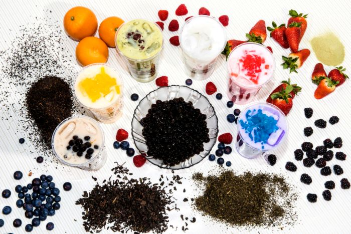 Types of Toppings or Additives in Bubble Tea