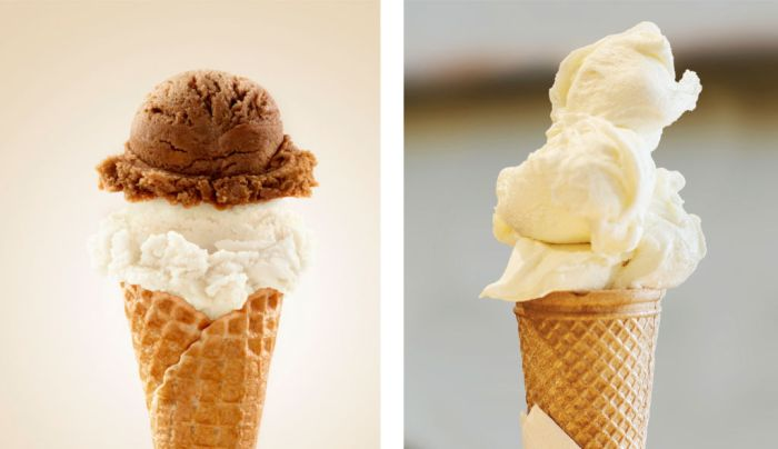 ice cream and gelato difference