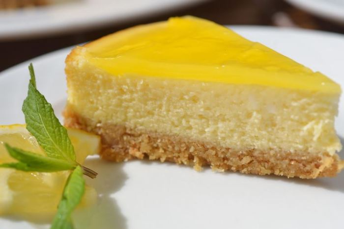 Lemon Cheesecake   foodpanda Magazine