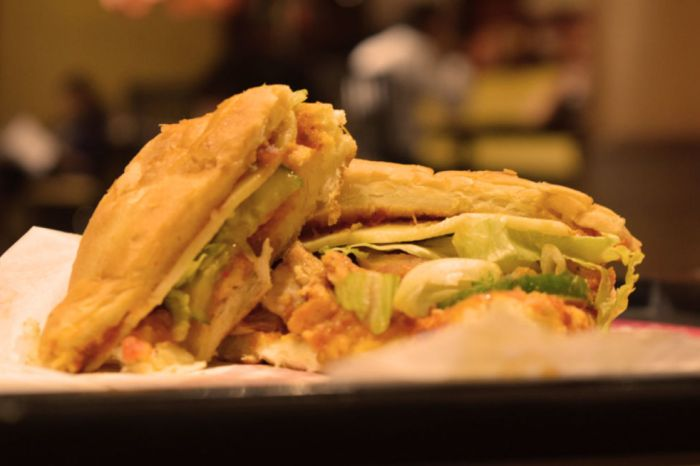 Fajita Sandwich | foodpanda Magazine