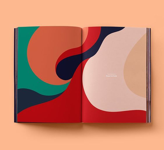 living coral - pantone colore of the year 2019 - in graphic design - haforma magazine (10)