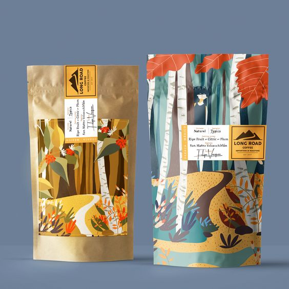flat illlustration packaging design trend - haforma magazine (10)