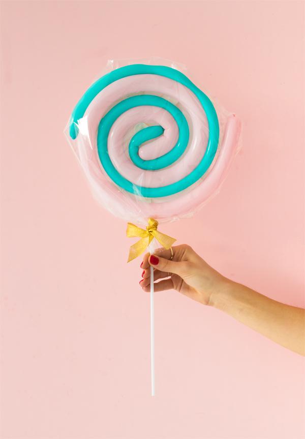 balloon giant lolypop party decor