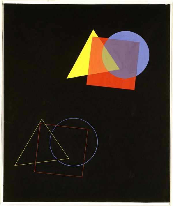 Kandinsky theory of color and shape
