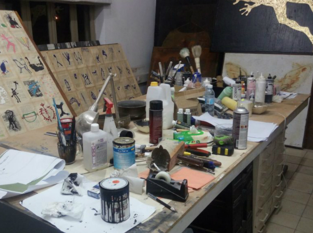 an artist studio place for being creative