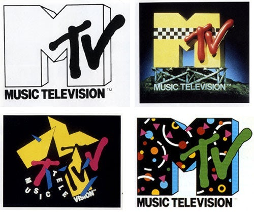 MTV's usage of logos.