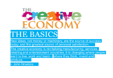 CREATIVE ECONOMY – THE RESOURCE WE NEED NOW