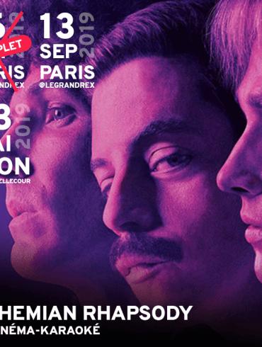 Bohemian Rhapsody en cinéma-karaoké
