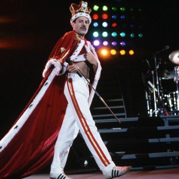 Freddie Mercury sur scène