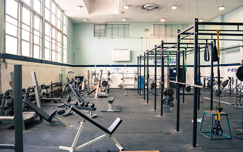 Salle de sport Huntington Park High School